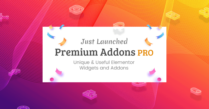 Premium Addons PRO launched!