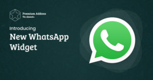 Elementor WhatsApp Widget is Finally Here