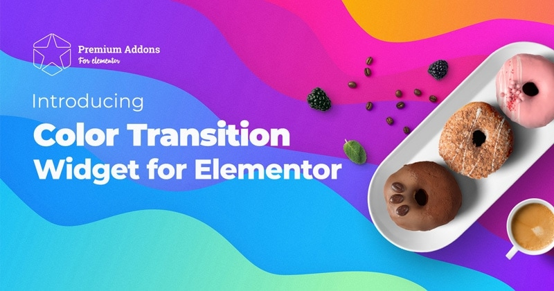 Introducing Color Transition Widget for Elementor