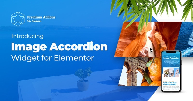 Just Released: Elementor Image Accordion Widget