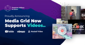 Media Grid Now Supports Videos and Images
