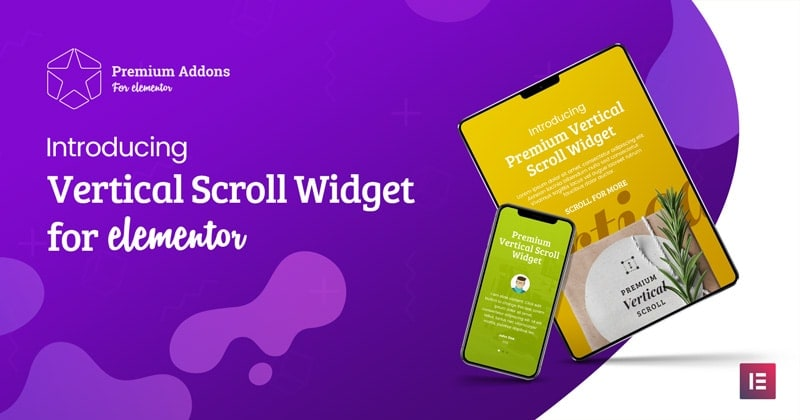 Elementor Vertical Scroll Widget - Premium Addons for Elementor