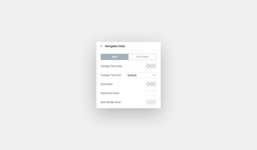 Multi-Scroll Widget for Elementor Navigation Dots