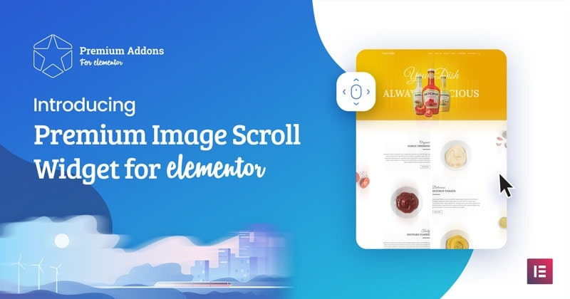 Elementor Image Scroll Widget