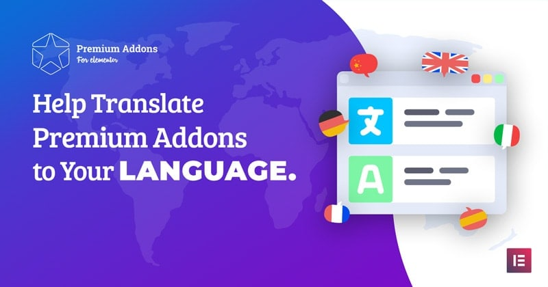 Translating Premium Addons for Elementor