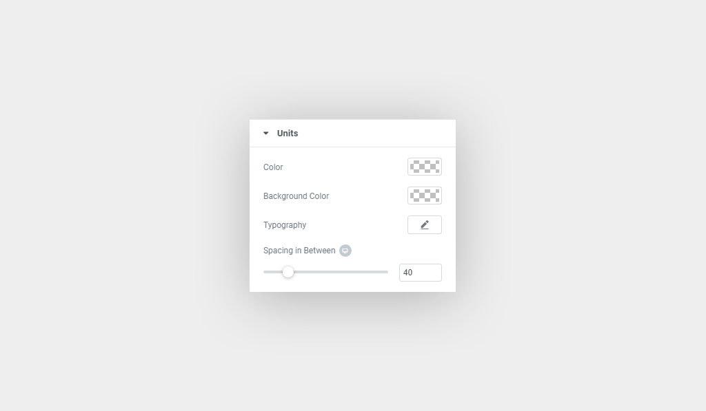 Premium Countdown Widget For Elementor Units Customization Options