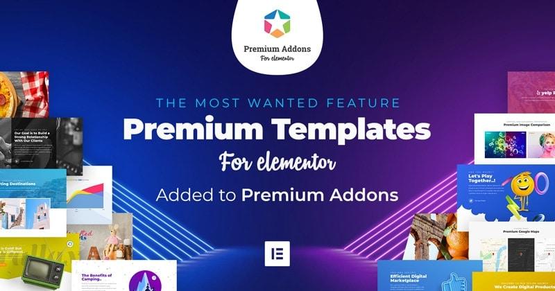 Premium Templates for Elementor - Premium Addons for Elementor