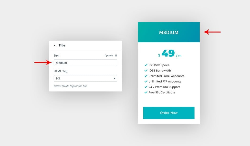 Pricing Table Widget Tutorial – Premium Addons for Elementor
