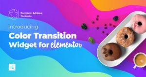 Introducing Background Color Transition Widget