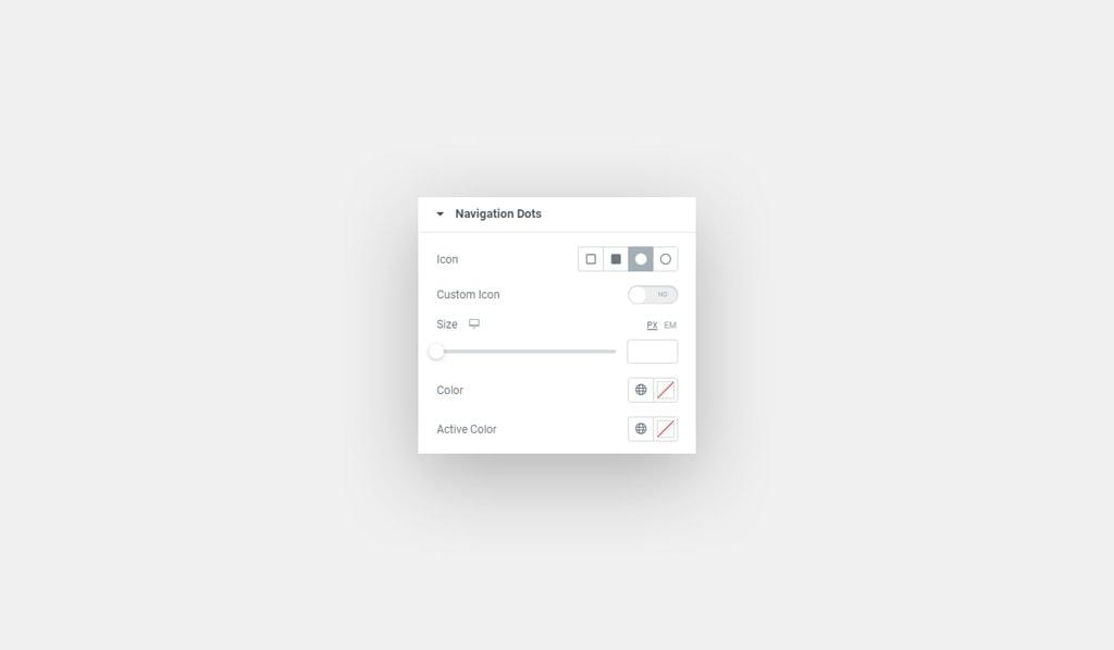 Elementor Carousel Widget Navigation Dots' Styling Options for Elementor Carousel Widget