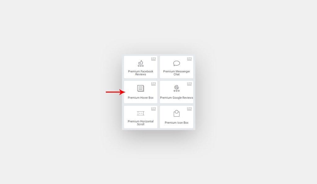 Premium Hover Box Widget for Elementor