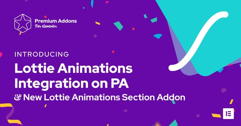 Elementor Lottie Animations