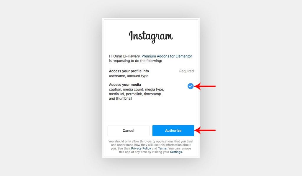 Premium Instagram Token Generator for Elementor