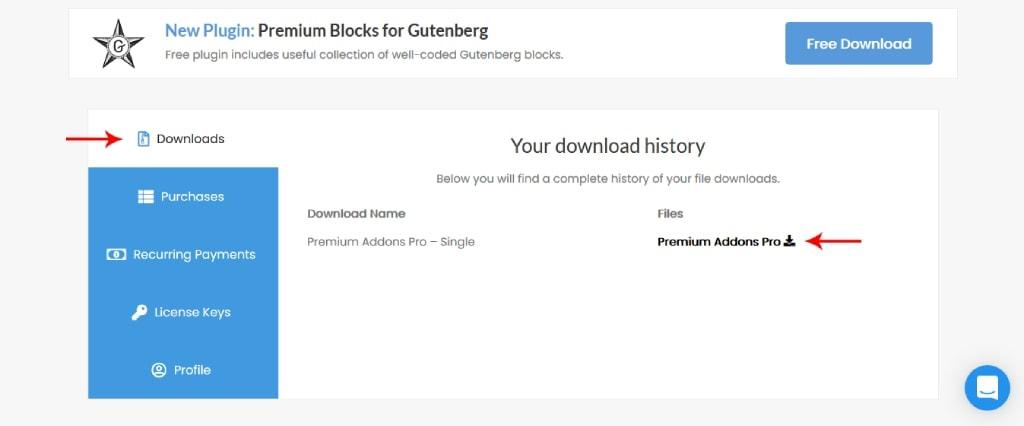 Download Elementor Premium Add-ons Pro