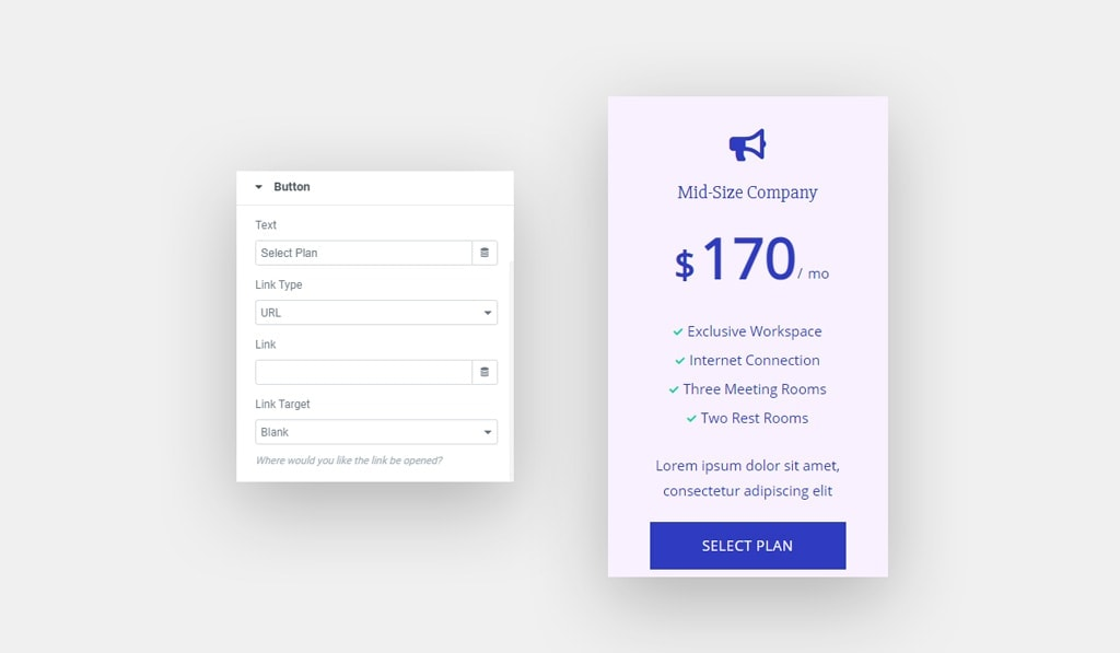 Make Your Elementor Pricing Table Widget Clickable by Enabling Button Option in Pricing Table Widget for Elementor