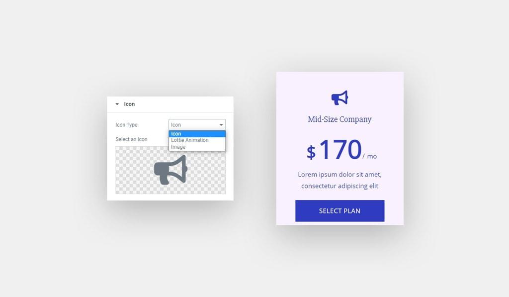 Elementor Pricing Table Widget Tutorial