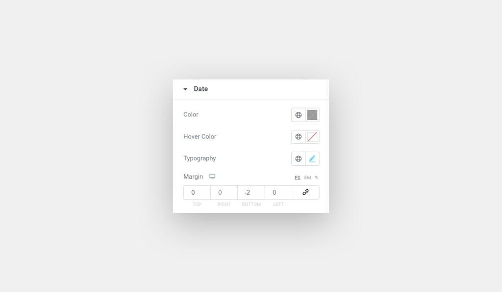 Date Style for Elementor Trustpilot Widget