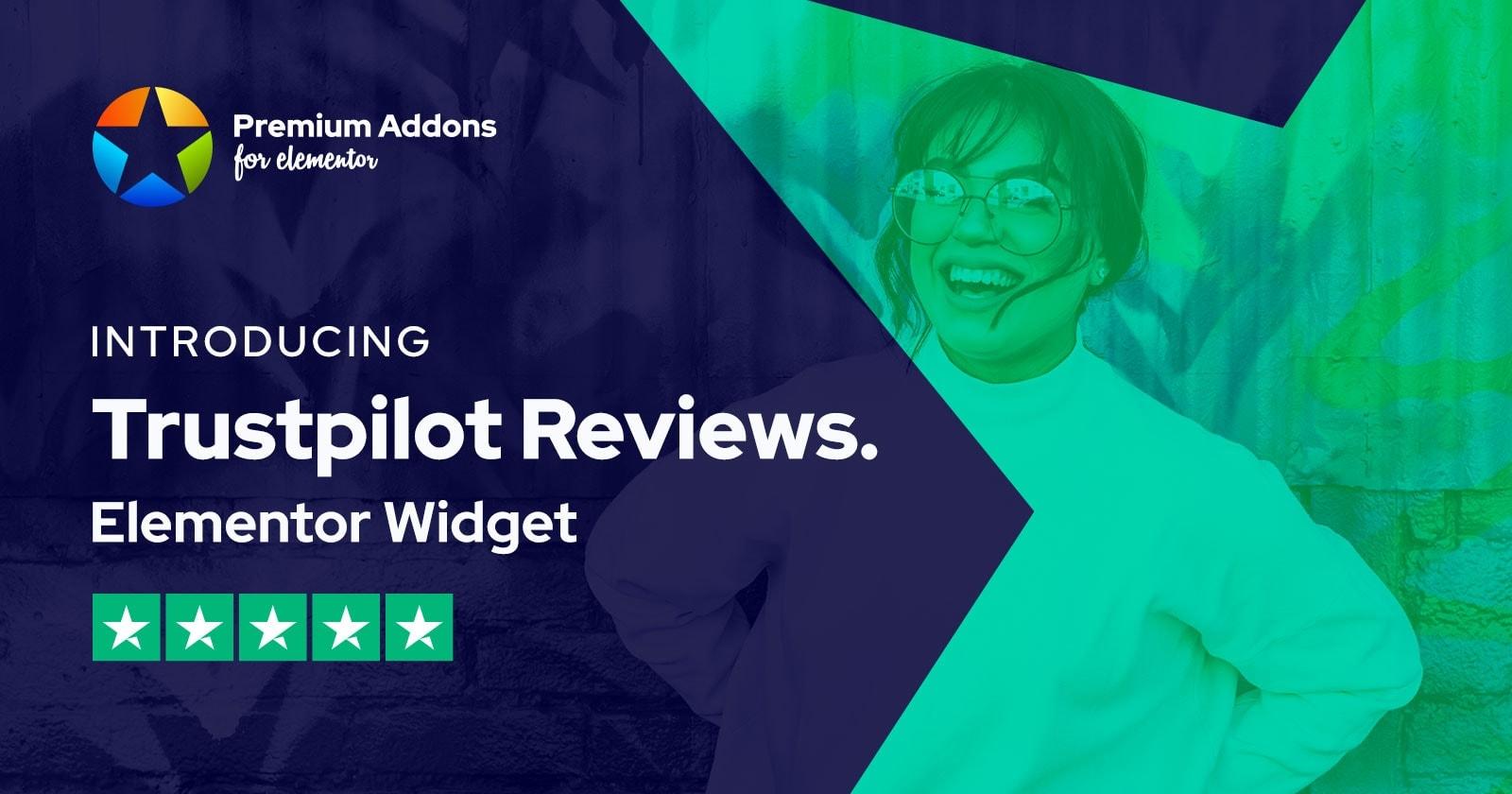 New Trustpilot Reviews Elementor Widget Added to Premium Addons PRO Bundle